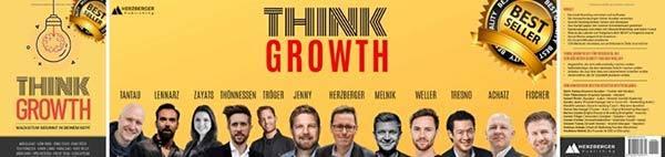 Dieses Bild zeigt das Buchcover von Think Growth
