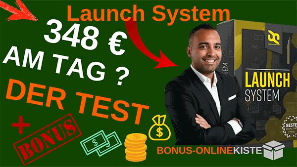 Launch System von Said Shiripour-Bonus Onlinekiste